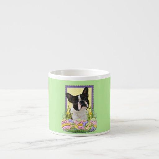 Easter Egg Cookies - Boston Terrier 6 Oz Ceramic Espresso Cup