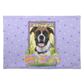 Easter Egg Cookies - Boxer Cloth Placemat