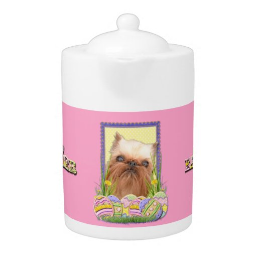 Easter Egg Cookies - Brussels Griffon