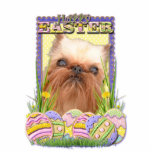 Easter Egg Cookies - Brussels Griffon Cut Out