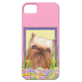 Easter Egg Cookies - Brussels Griffon iPhone SE/5/5s Case