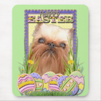 Easter Egg Cookies - Brussels Griffon Mouse Pad