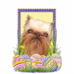 Easter Egg Cookies - Brussels Griffon Photo Cut Out