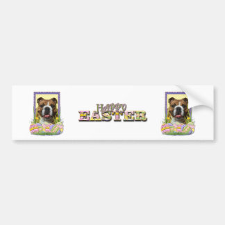 Easter Egg Cookies - Bulldog Car Bumper Sticker
