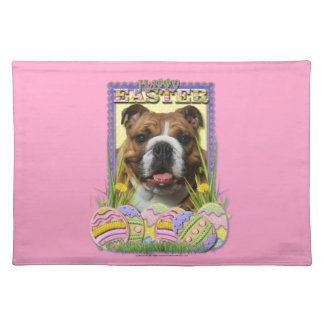 Easter Egg Cookies - Bulldog Cloth Placemat