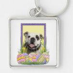 Easter Egg Cookies - Bulldog Key Chains