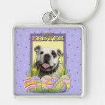 Easter Egg Cookies - Bulldog Keychains