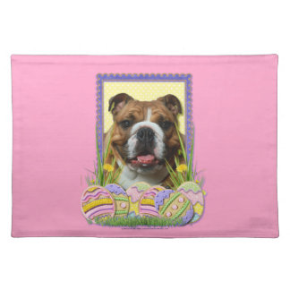 Easter Egg Cookies - Bulldog Placemat