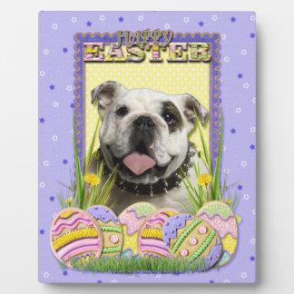 Easter Egg Cookies - Bulldog Plaque