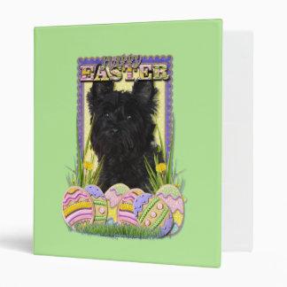 Easter Egg Cookies - Cairn Terrier Vinyl Binders