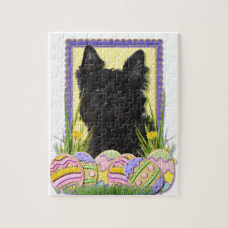 Easter Egg Cookies - Cairn Terrier Puzzles
