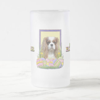 Easter Egg Cookies - Cavalier - Blenheim Frosted Glass Beer Mug