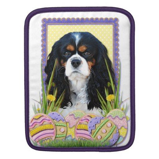Easter Egg Cookies - Cavalier - Tri-color iPad Sleeve