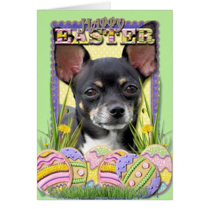 Easter Egg Cookies - Chihuahua Card