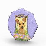 Easter Egg Cookies - Chihuahua - Daisy Acrylic Award