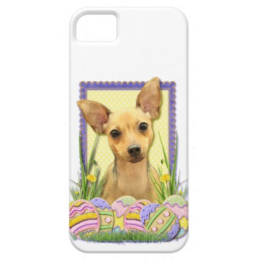 Easter Egg Cookies - Chihuahua - Daisy iPhone 5 Covers