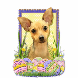 Easter Egg Cookies - Chihuahua - Daisy Acrylic Cut Outs