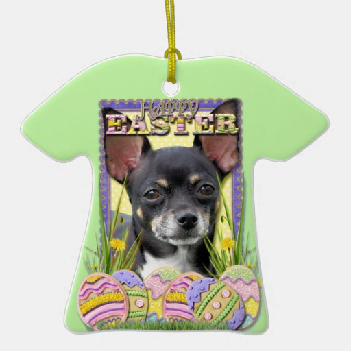 Easter Egg Cookies - Chihuahua Christmas Tree Ornaments