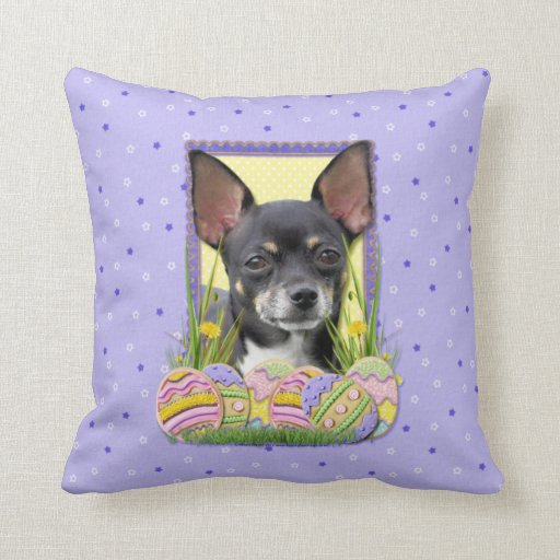 Easter Egg Cookies - Chihuahua Pillows