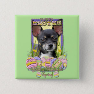 Easter Egg Cookies - Chihuahua Pinback Button