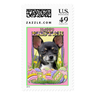 Easter Egg Cookies - Chihuahua Postage Stamps