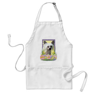 Easter Egg Cookies - Chinese Crested Adult Apron