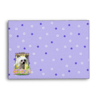 Easter Egg Cookies - Chinese Crested Envelope