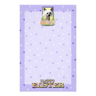 Easter Egg Cookies - Chinese Crested Custom Stationery