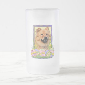 Easter Egg Cookies - Chow Chow Frosted Glass Beer Mug