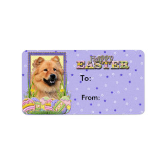 Easter Egg Cookies - Chow Chow Label