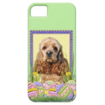 Easter Egg Cookies - Cocker Spaniel iPhone 5 Covers