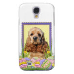 Easter Egg Cookies - Cocker Spaniel Samsung Galaxy S4 Cases