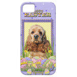 Easter Egg Cookies - Cocker Spaniel iPhone 5 Cover