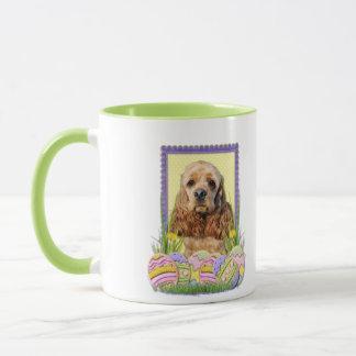 Easter Egg Cookies - Cocker Spaniel Mug