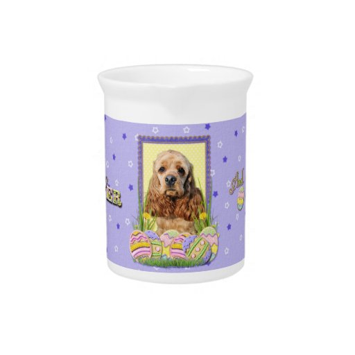 Easter Egg Cookies - Cocker Spaniel Drink Pitchers