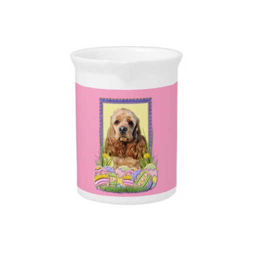 Easter Egg Cookies - Cocker Spaniel Pitcher