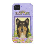 Easter Egg Cookies - Collie Case-Mate iPhone 4 Cases