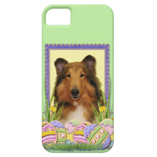 Easter Egg Cookies - Collie iPhone SE/5/5s Case