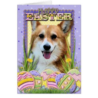 Easter Egg Cookies - Corgi Card