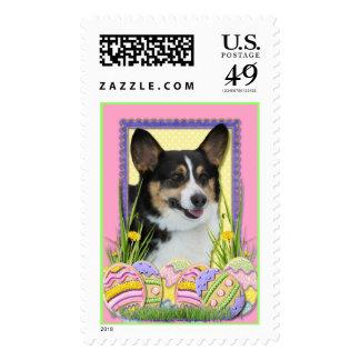 Easter Egg Cookies - Corgi Stamp