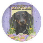 Easter Egg Cookies - Dachshund Party Plate