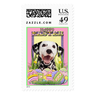 Easter Egg Cookies - Dalmatian Postage