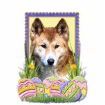 Easter Egg Cookies - Dingo Photo Cut Outs