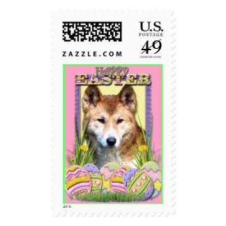 Easter Egg Cookies - Dingo Stamp
