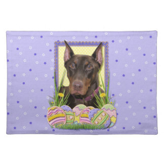 Easter Egg Cookies - Doberman Placemat