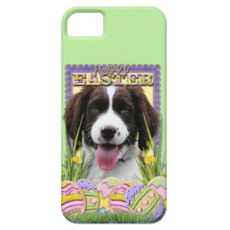 Easter Egg Cookies - English Springer Spaniel iPhone SE/5/5s Case