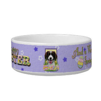 Easter Egg Cookies - English Springer Spaniel Cat Water Bowls