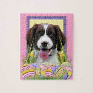 Easter Egg Cookies - English Springer Spaniel Jigsaw Puzzles