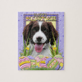 Easter Egg Cookies - English Springer Spaniel Puzzles