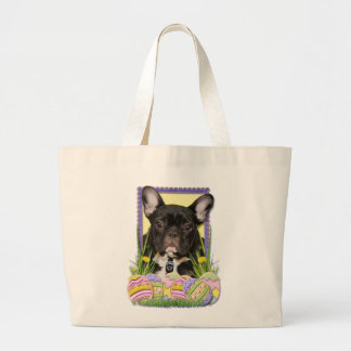 Easter Egg Cookies - French Bulldog Tote Bags